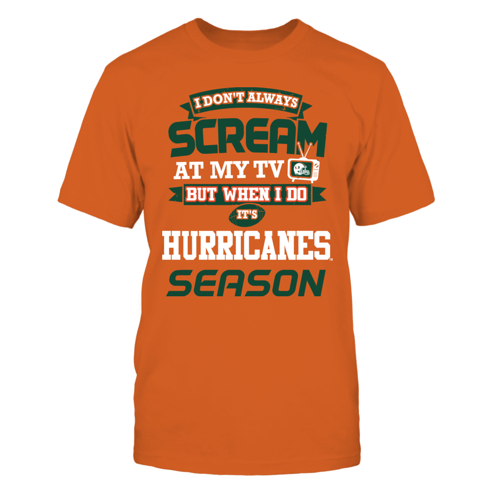 Screaming HURRICANES Fan Front picture