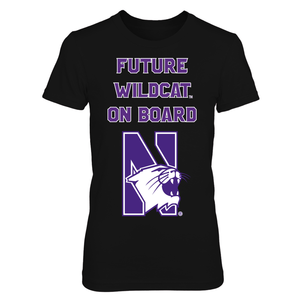 Pregnant Future Northwestern Wildcat On Board Front picture