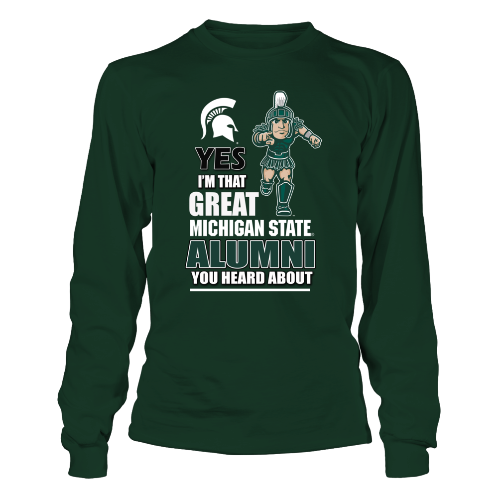 Michigan State Alumni Shirt Front picture
