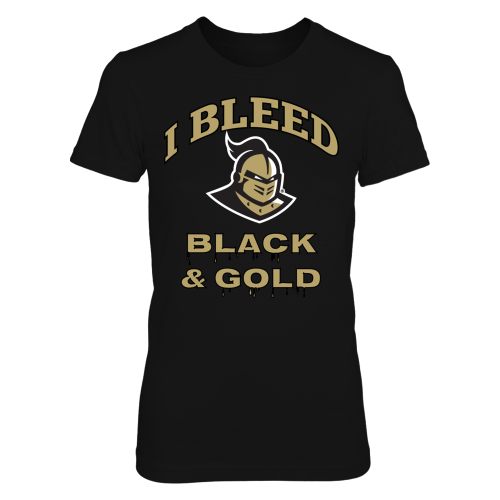 I Bleed UCF Black and Gold! Front picture