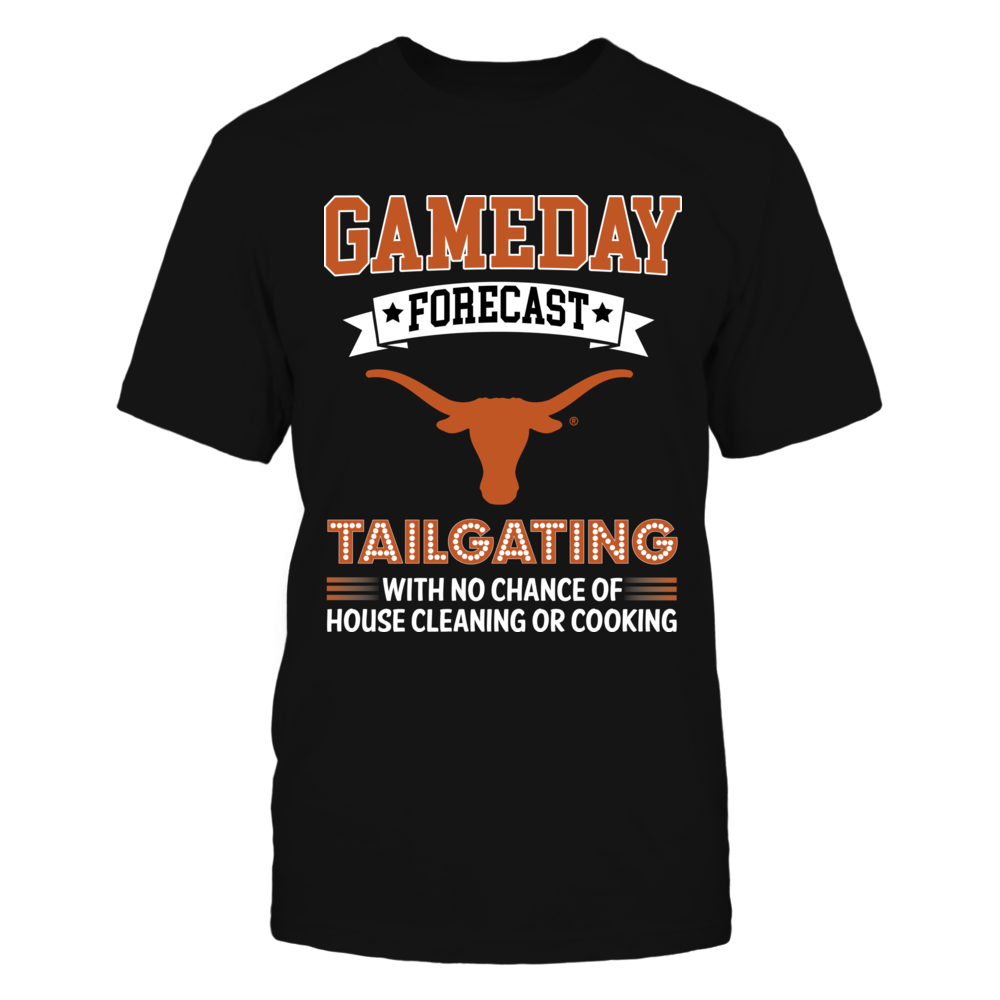 Texas Longhorns - Gameday Forecast Front picture