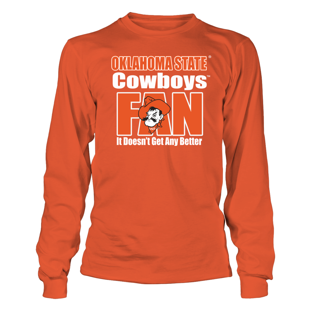 Okla State Cowboy Fans- It Doesn't Get Any Better Front picture