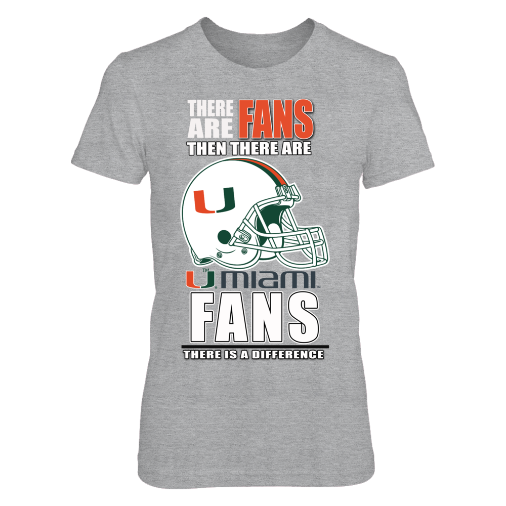 Miami Football Fans - There is a Difference Front picture