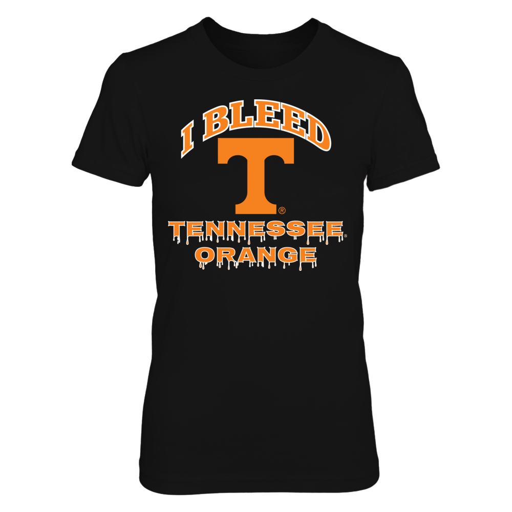 Tennessee Volunteers I Bleed Volunteer Orange! FanPrint