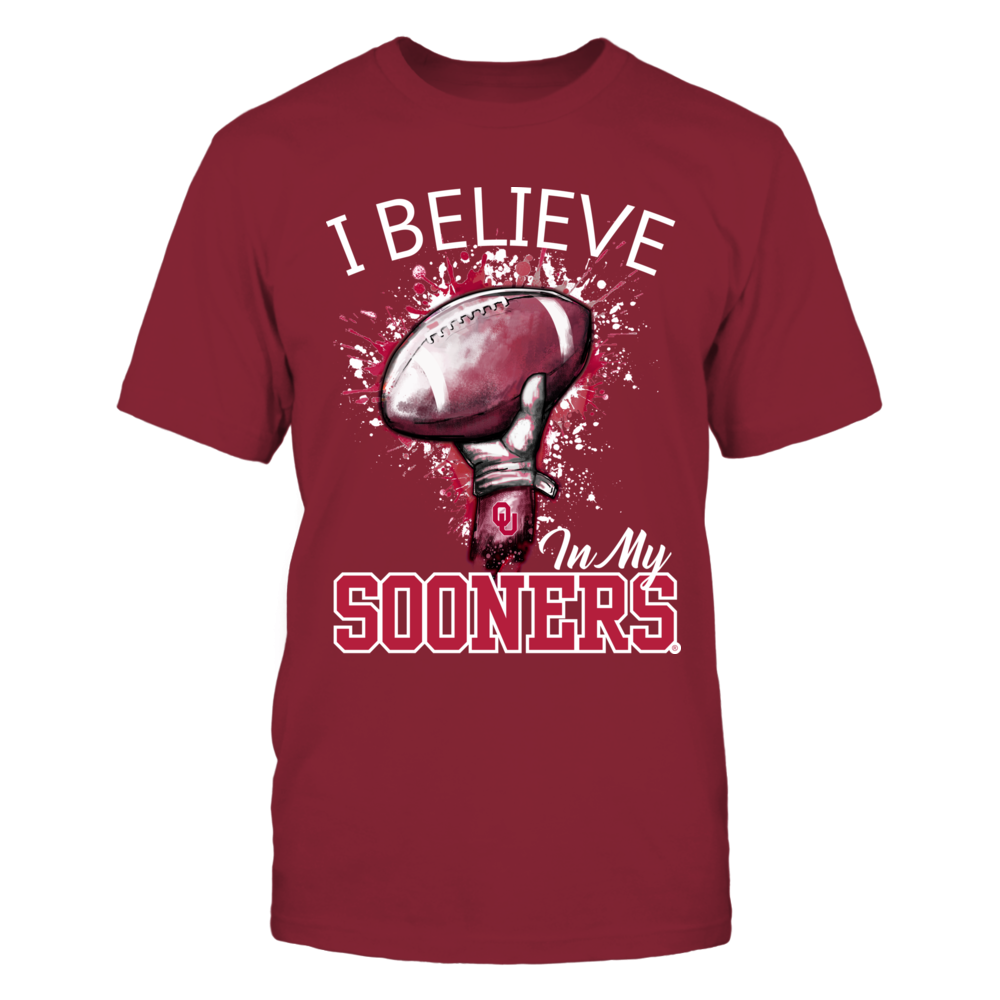 Oklahoma Sooners - I believe in my Sooners Front picture