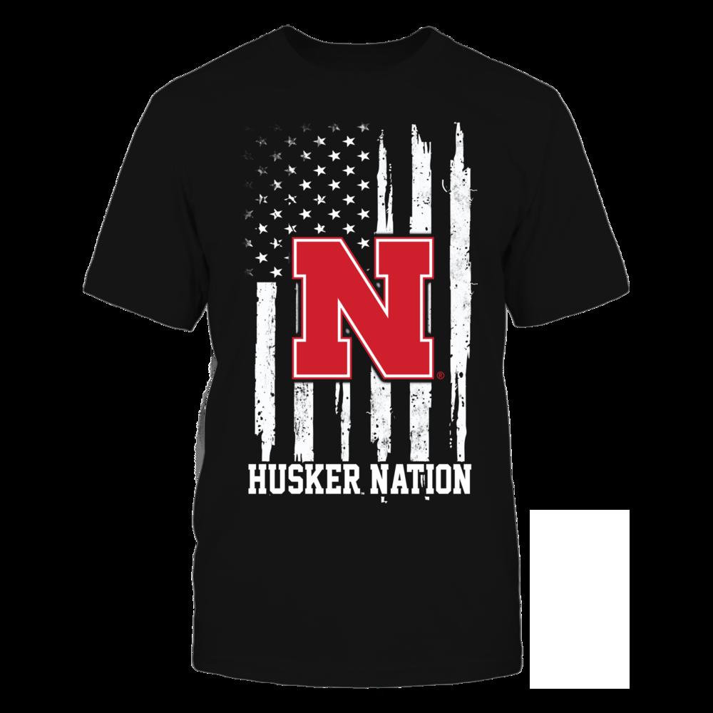 Nebraska Cornhuskers - Nation Flag Front picture