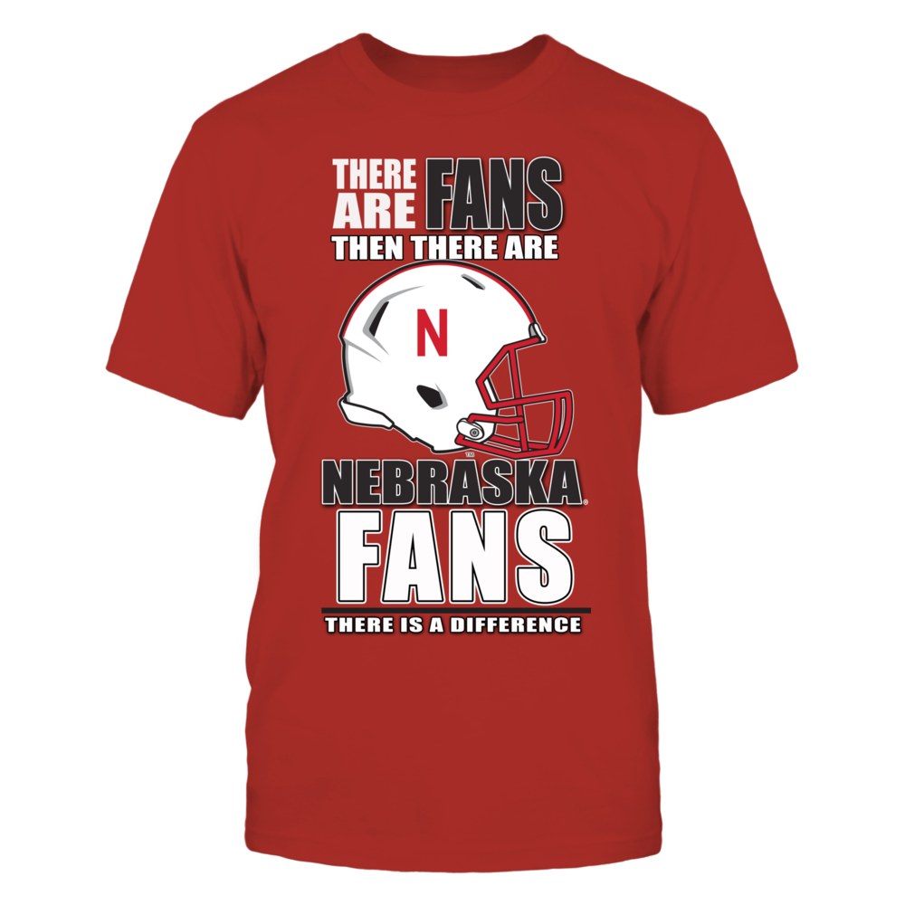 Husker Football Fans - There is a Difference Front picture