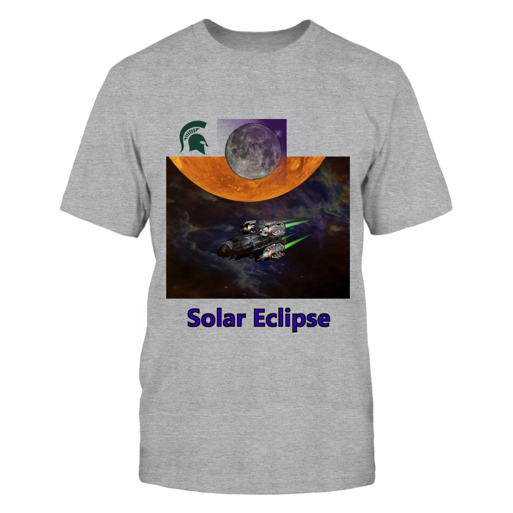 Michigan State Spartans Solar Eclipse For MSU Spartans T-Shirt FanPrint