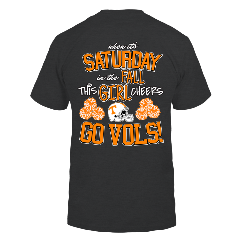 Cheer Go Vols! Back picture