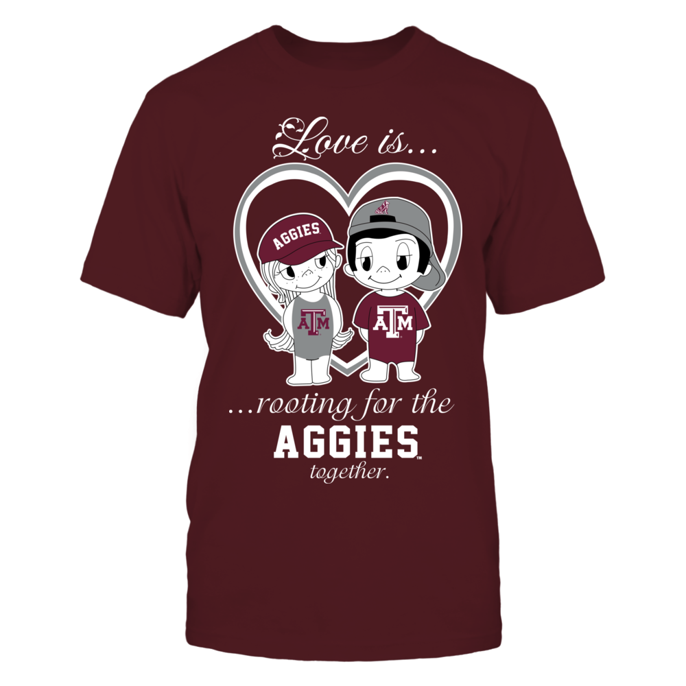 Texas A&M Aggies - Love Is Front picture