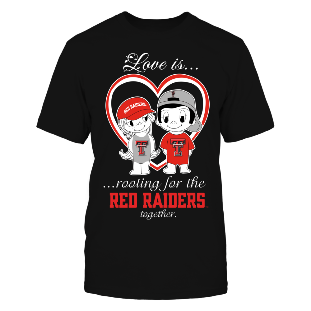 Texas Tech Red Raiders - Love Is Front picture
