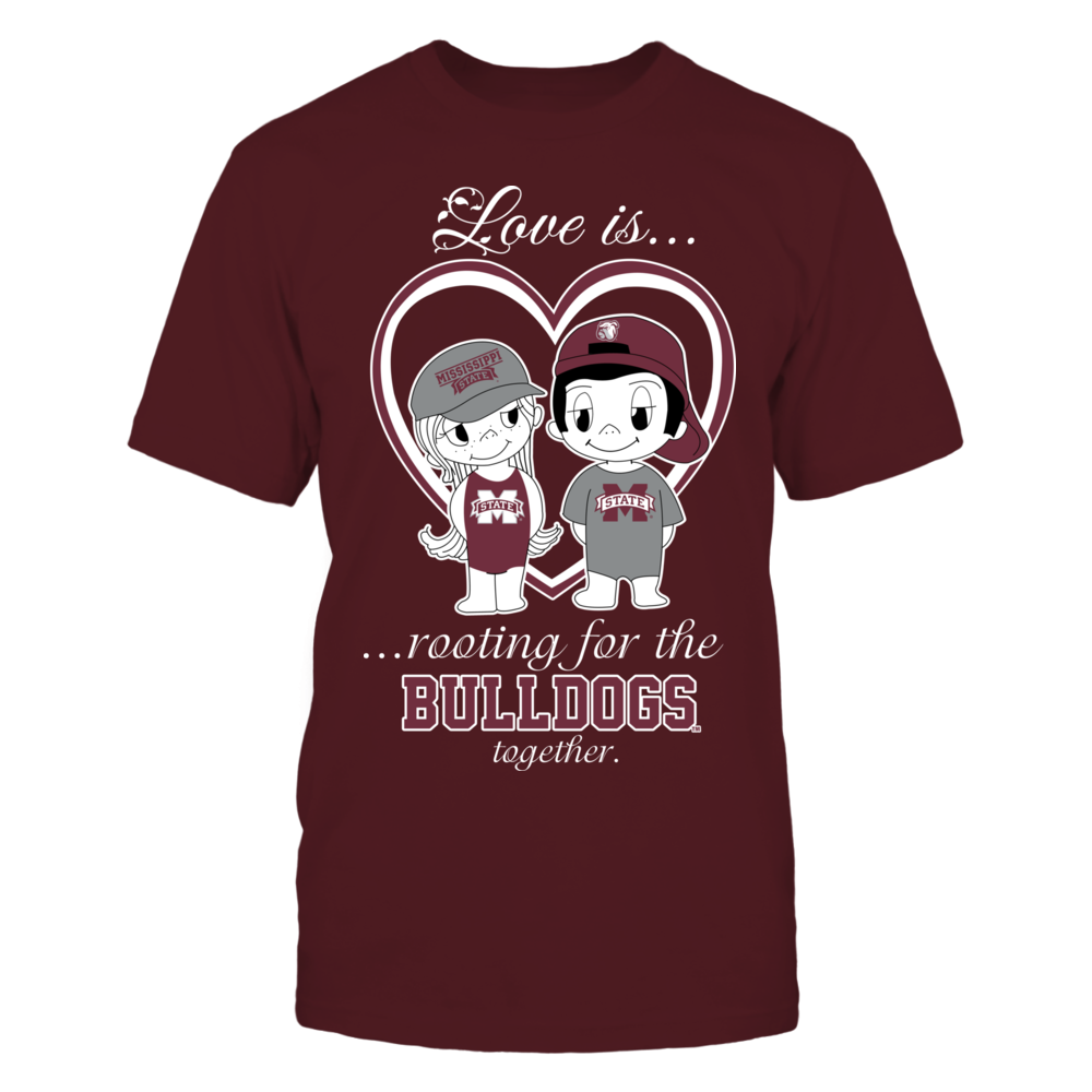 Mississippi State Bulldogs - Love Is Front picture