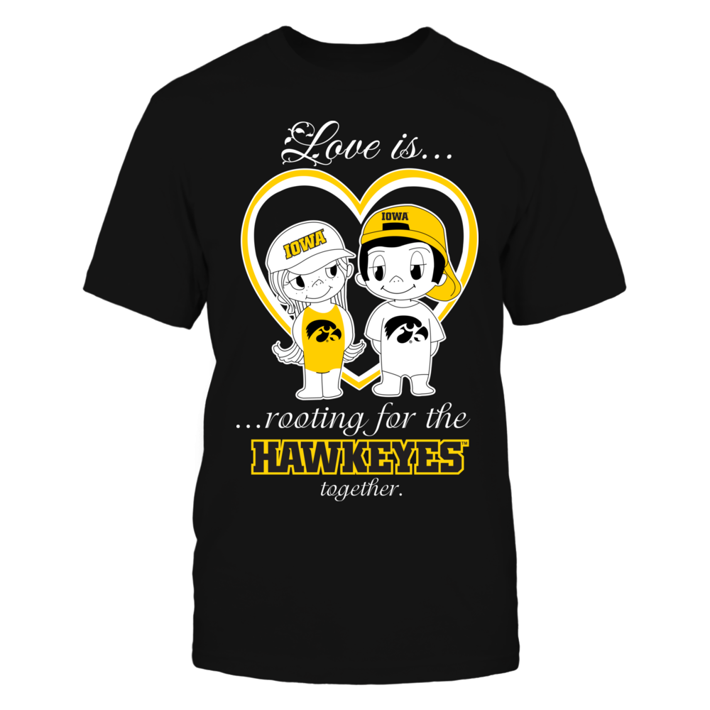 Iowa Hawkeyes - Love Is Front picture