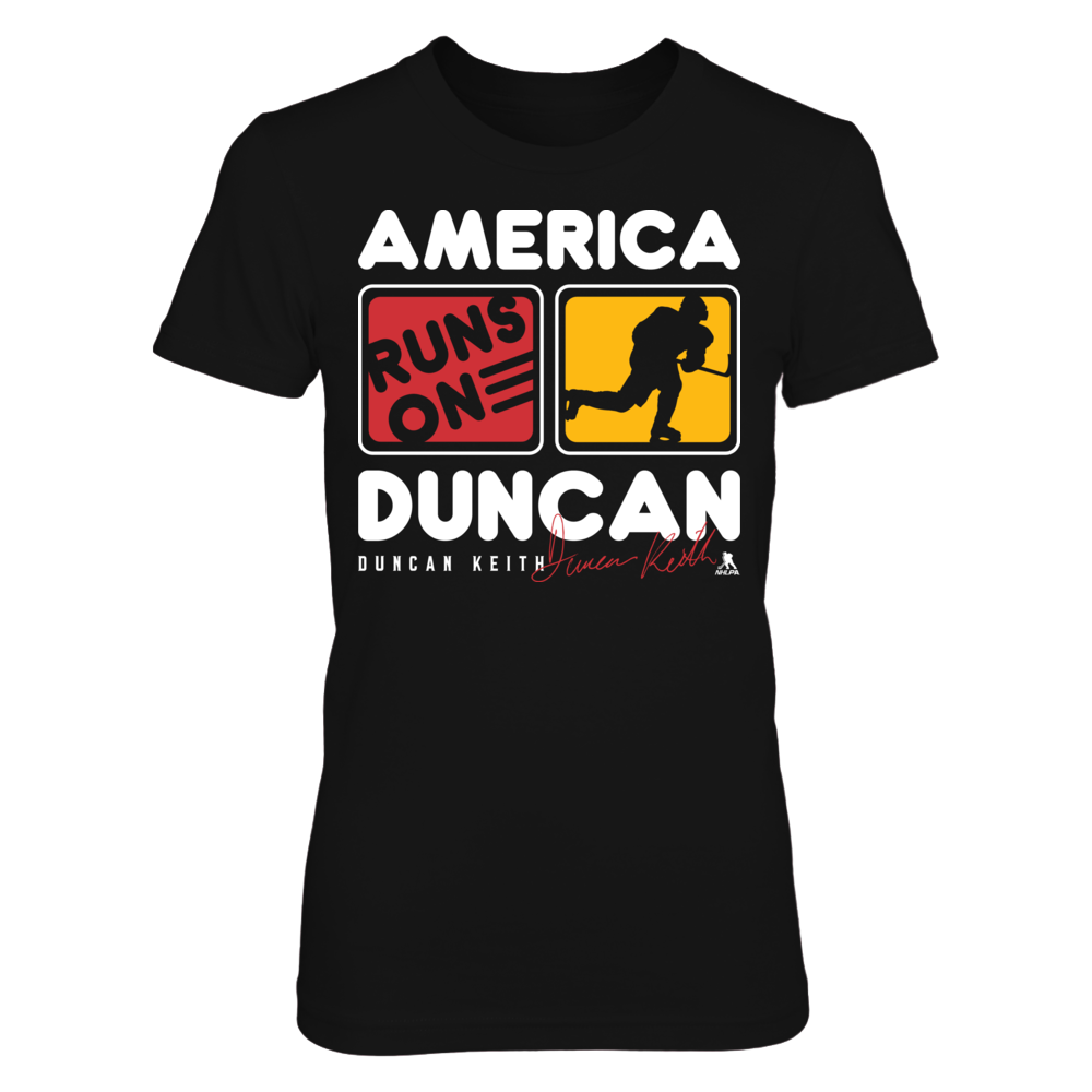 Duncan Keith - America Runs On Front picture