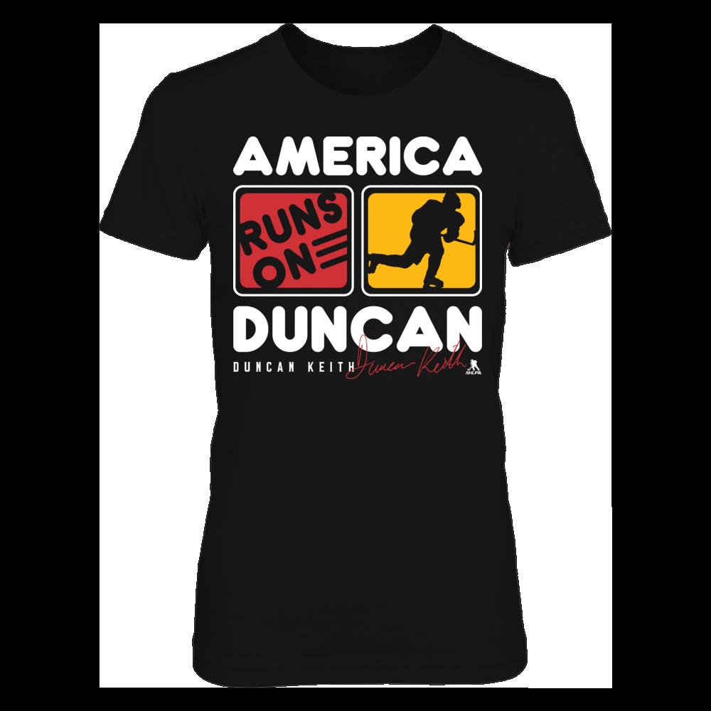 Duncan Keith Duncan Keith - America Runs On FanPrint