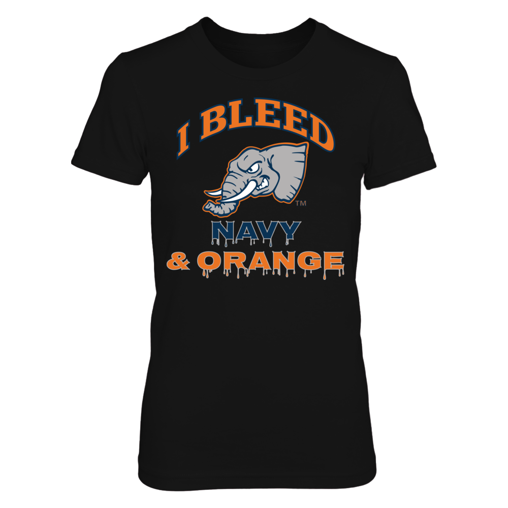 Cal State Fullerton Titans I Bleed Fullerton Navy and Orange! FanPrint