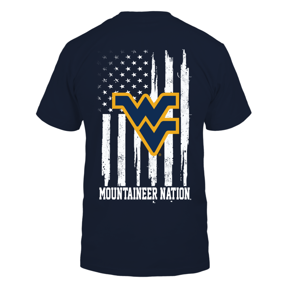 West Virginia Mountaineers - Nation Flag Back picture