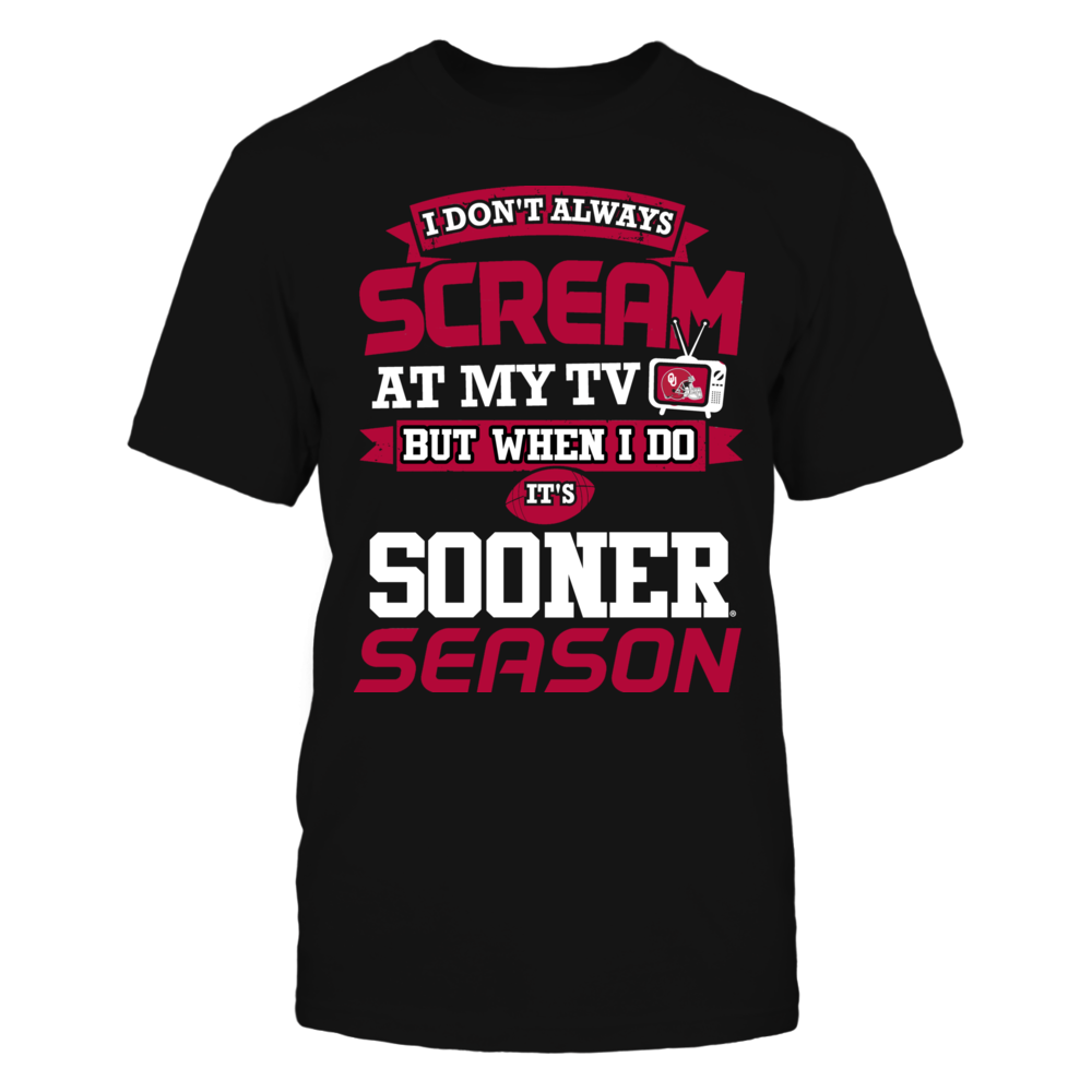 Screaming Sooners Fan Front picture