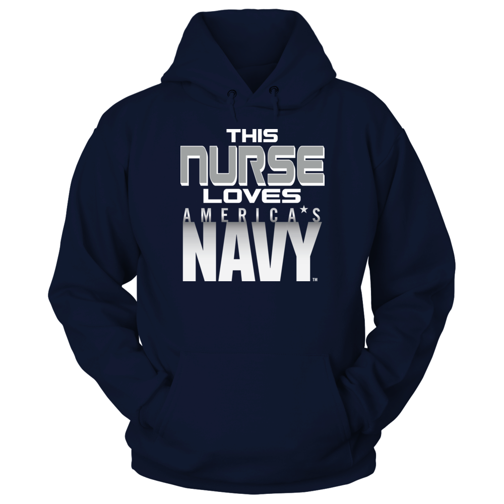 Navy Navy - This Nurse Loves FanPrint