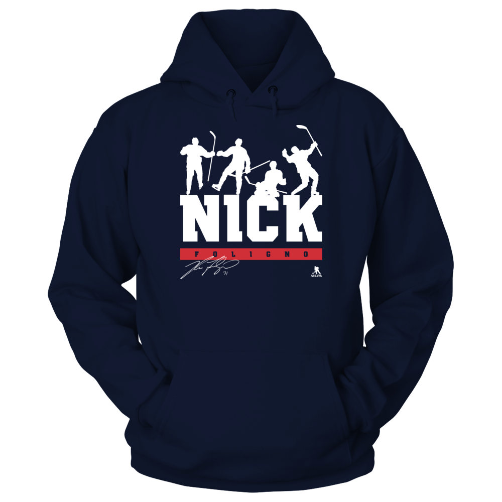 Nick Foligno Nick Foligno - Victory Dance FanPrint