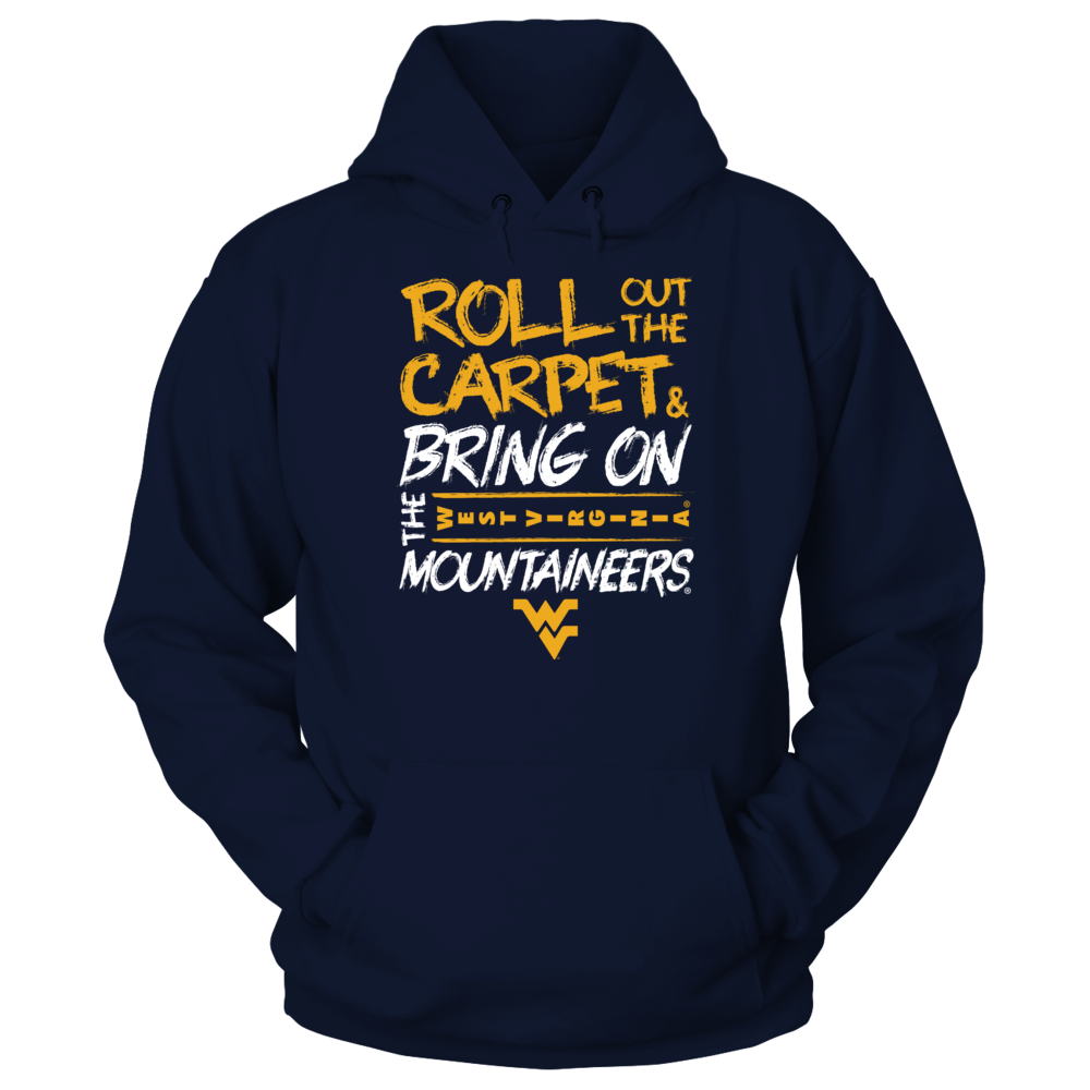 West Virginia Mountaineers West Virginia Mountaineers - Roll Out The Carpet FanPrint