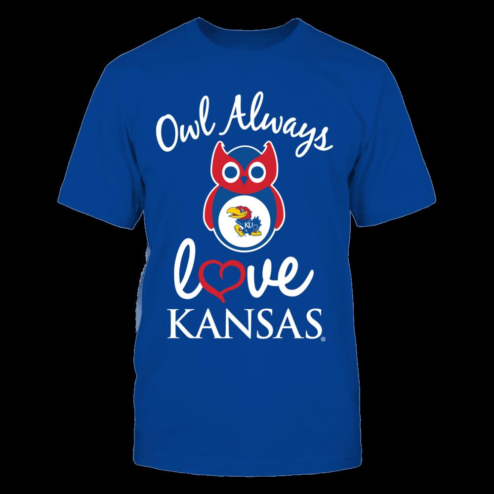 Kansas Jayhawks - Owl Always Love Front picture