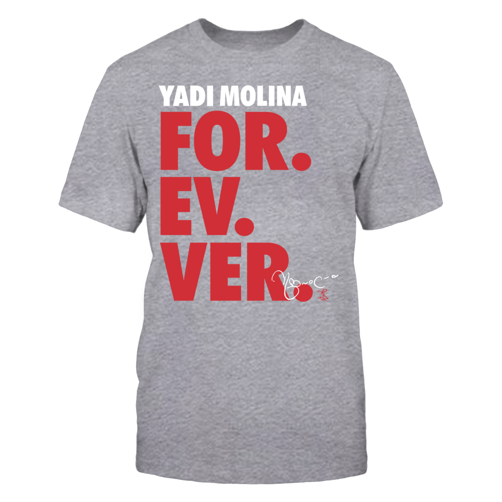 Yadier Molina - For. Ev. Ver. Front picture