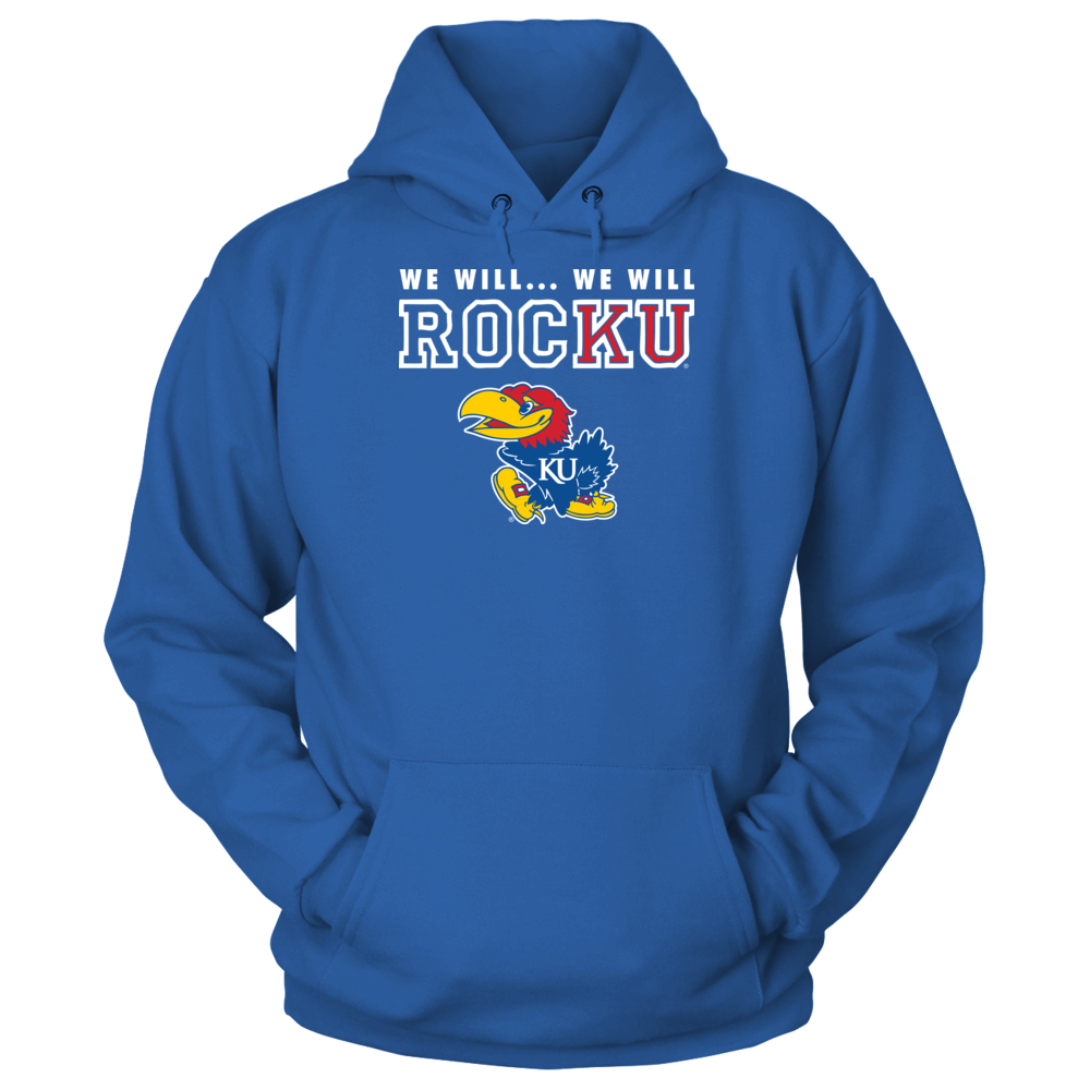 Kansas Jayhawks Basketball - We Will, We Will RocKU Front picture