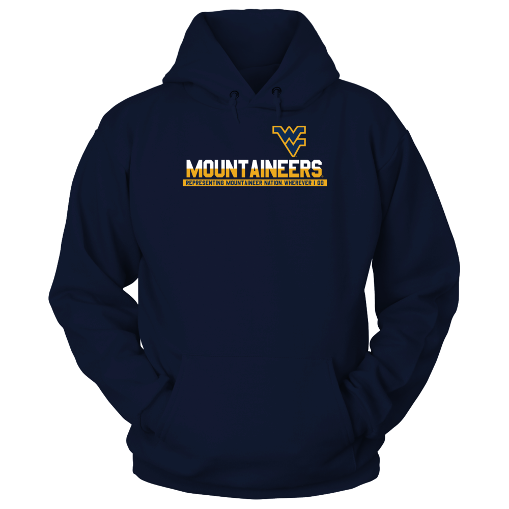 West Virginia Mountaineers - Representing Wherever I Go Front picture