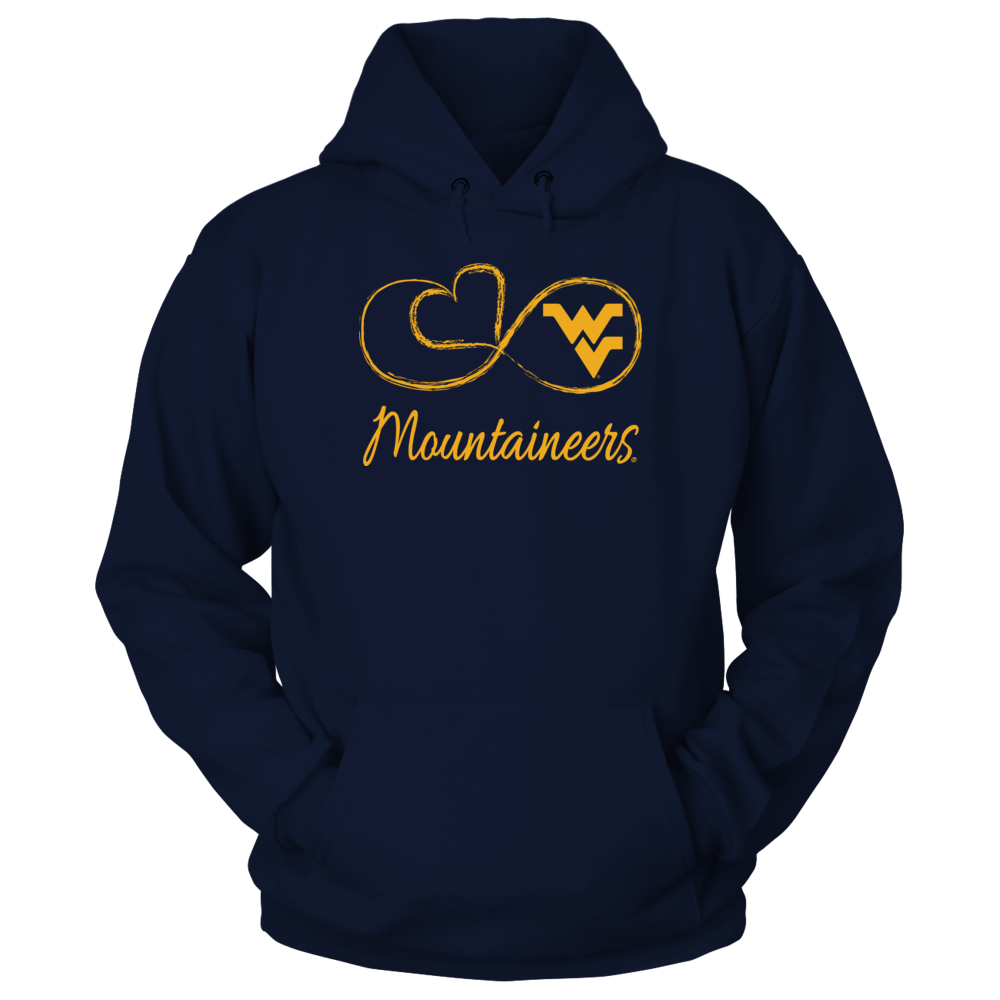 Infinite Heart - West Virginia Mountaineers Front picture