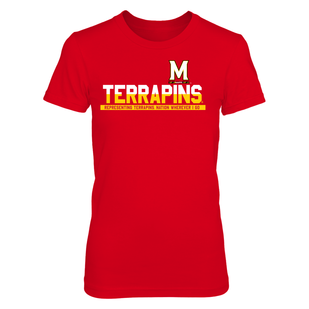 Maryland Terrapins - Representing Wherever I Go Front picture