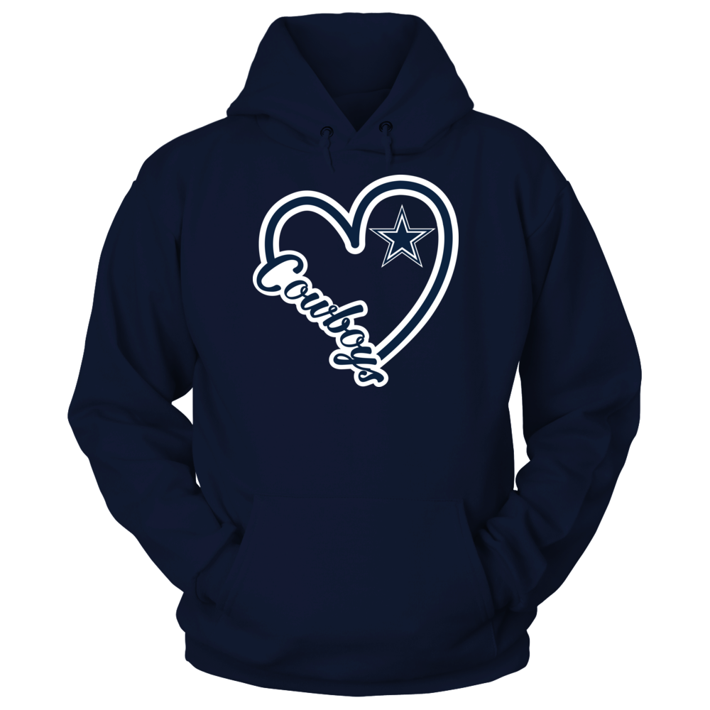 Heart Script - Dallas Cowboys Front picture