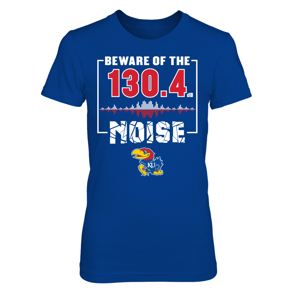 Kansas Jayhawks - Beware Of The Noise Front picture