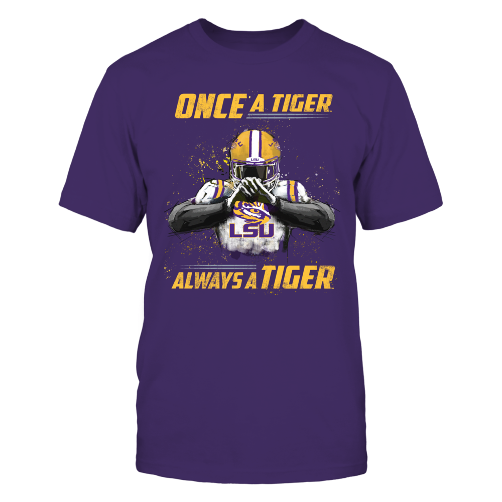 LSU Tigers - Once a Tiger, Always a Tiger - IF-IC17-DS27 Front picture