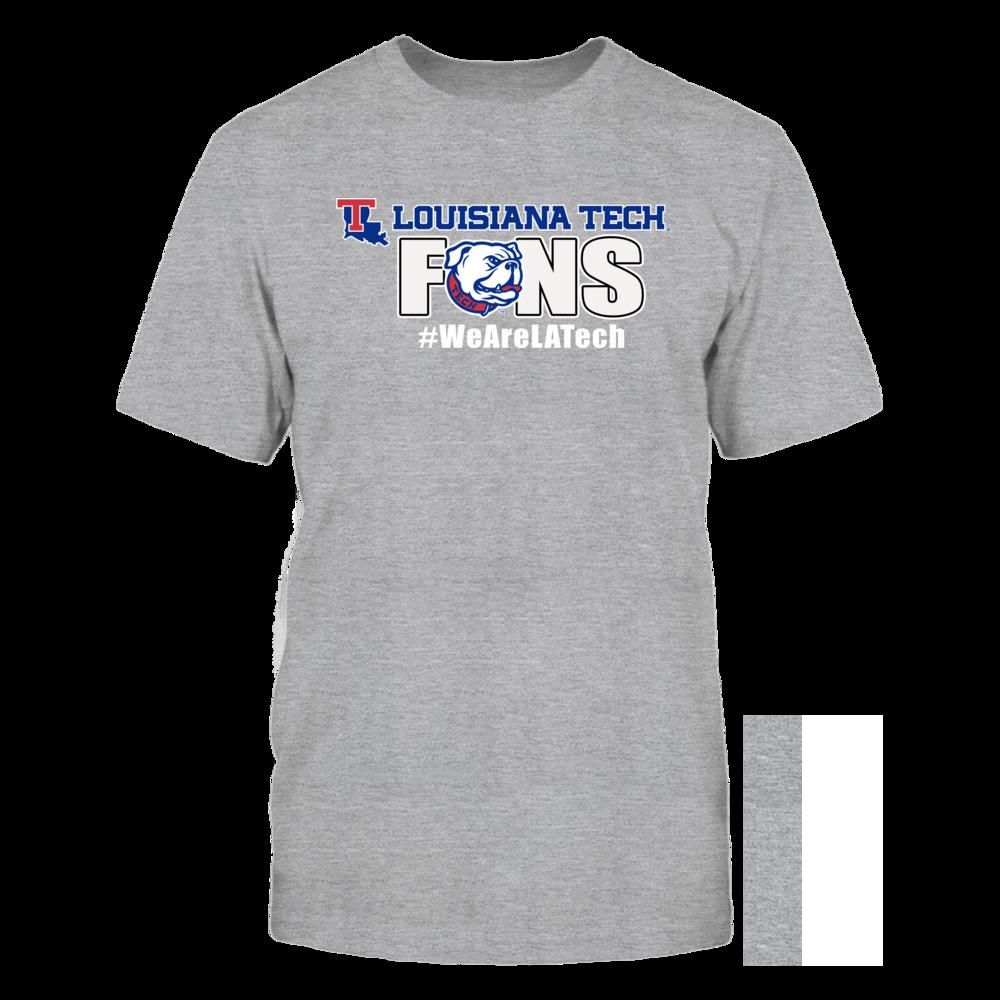 Louisiana Tech Bulldogs LA Tech University Fans - We Are LA Tech! FanPrint