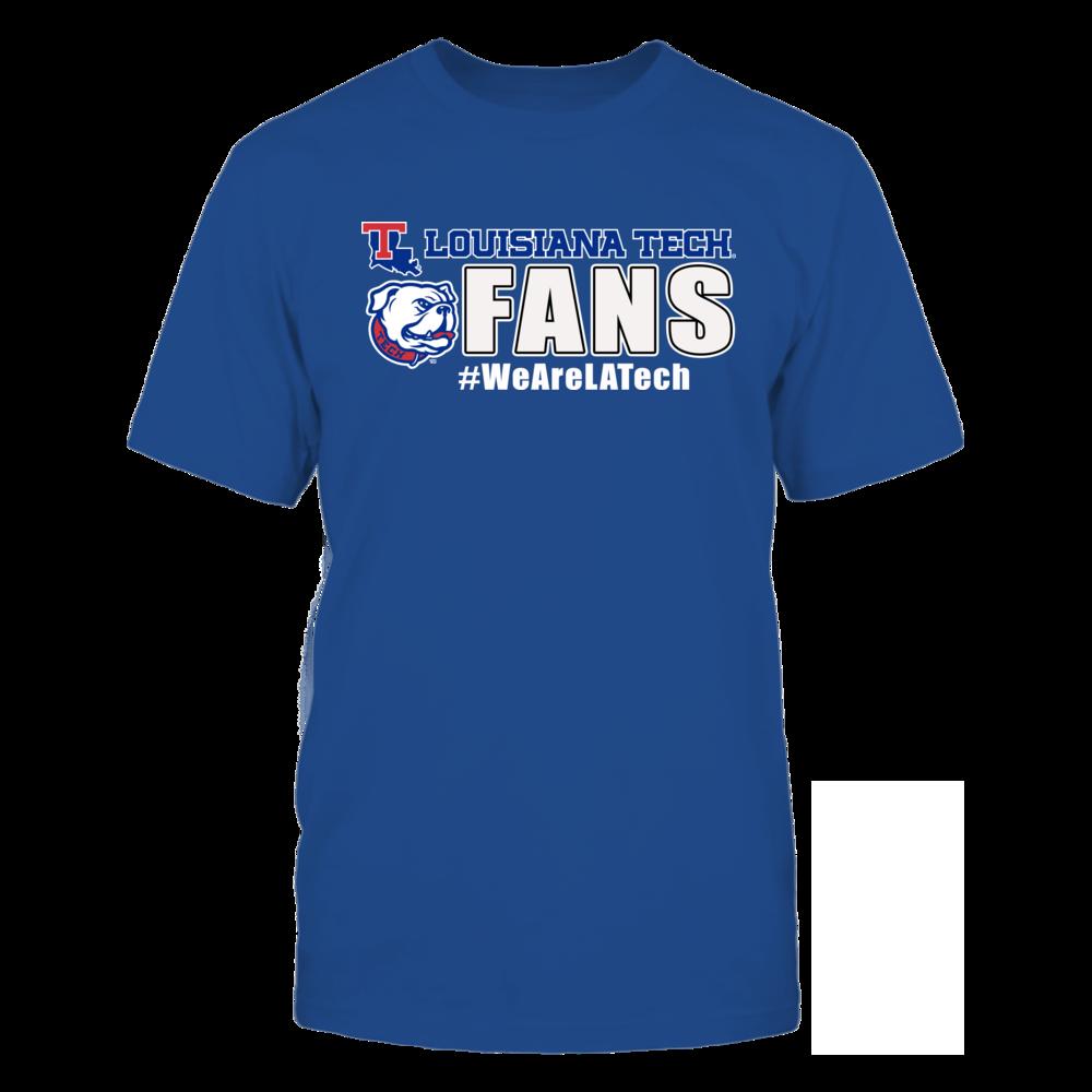 Louisiana Tech Bulldogs LA Tech University Fans FanPrint