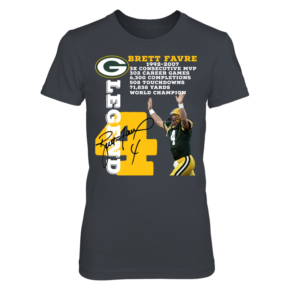 Green Bay Packers Brett Favre Legend Front picture