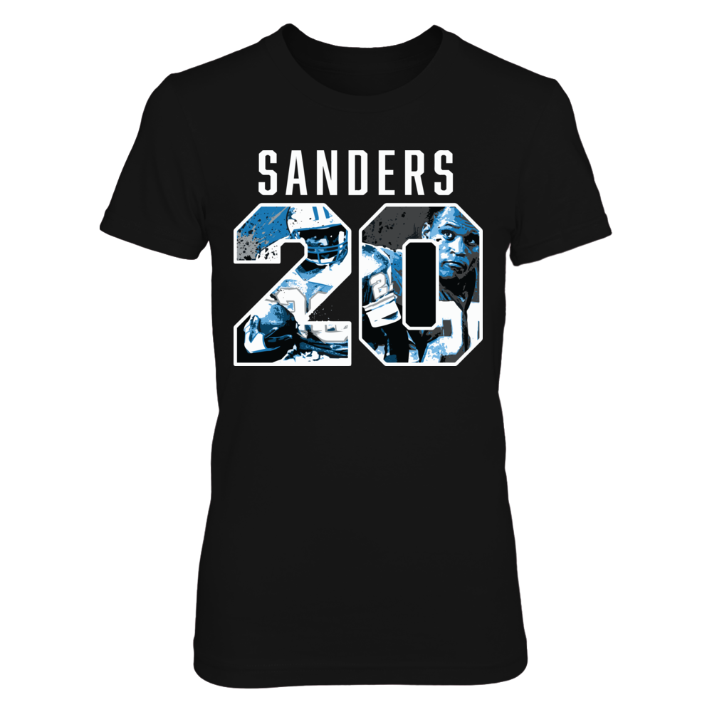 Barry Sanders - Player Number Front picture