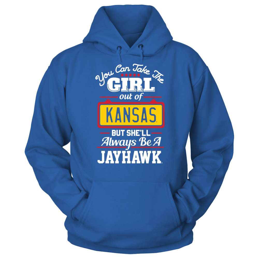 Kansas Jayhawks - Take Girl Out But She'll Always Be Front picture