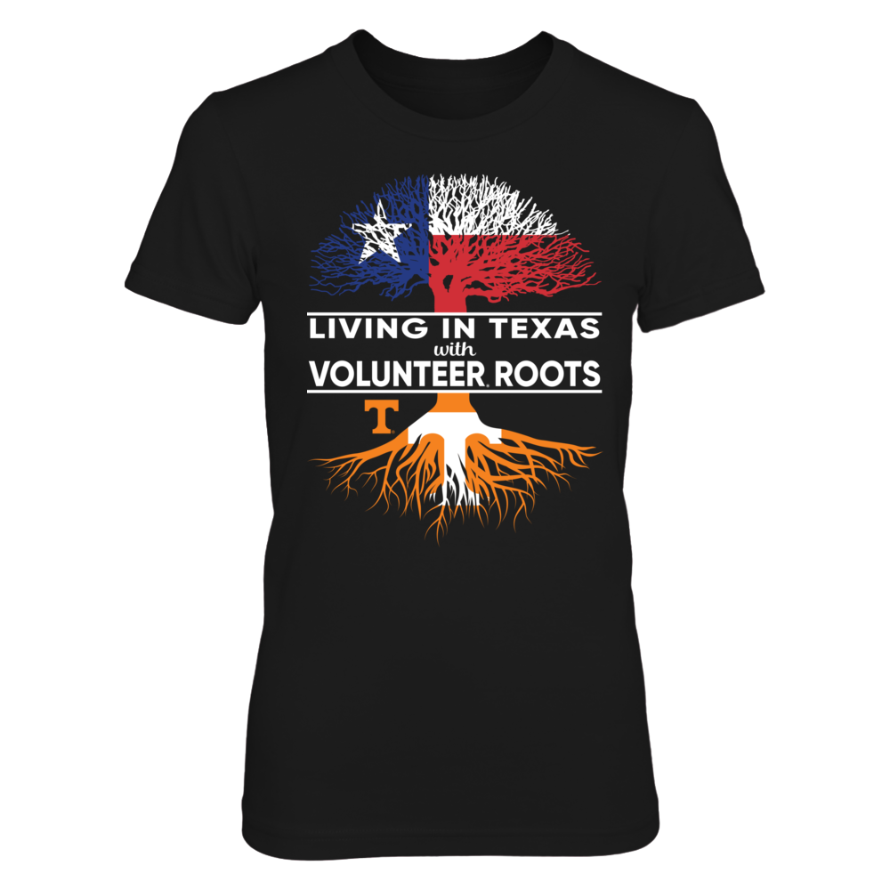 Tennessee Volunteers - Living Roots Texas Flag Front picture