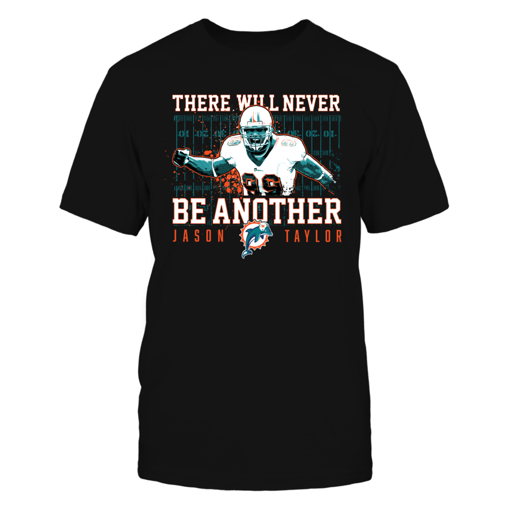 Miami Dolphins There Will Never Be Another - Jason Taylor FanPrint