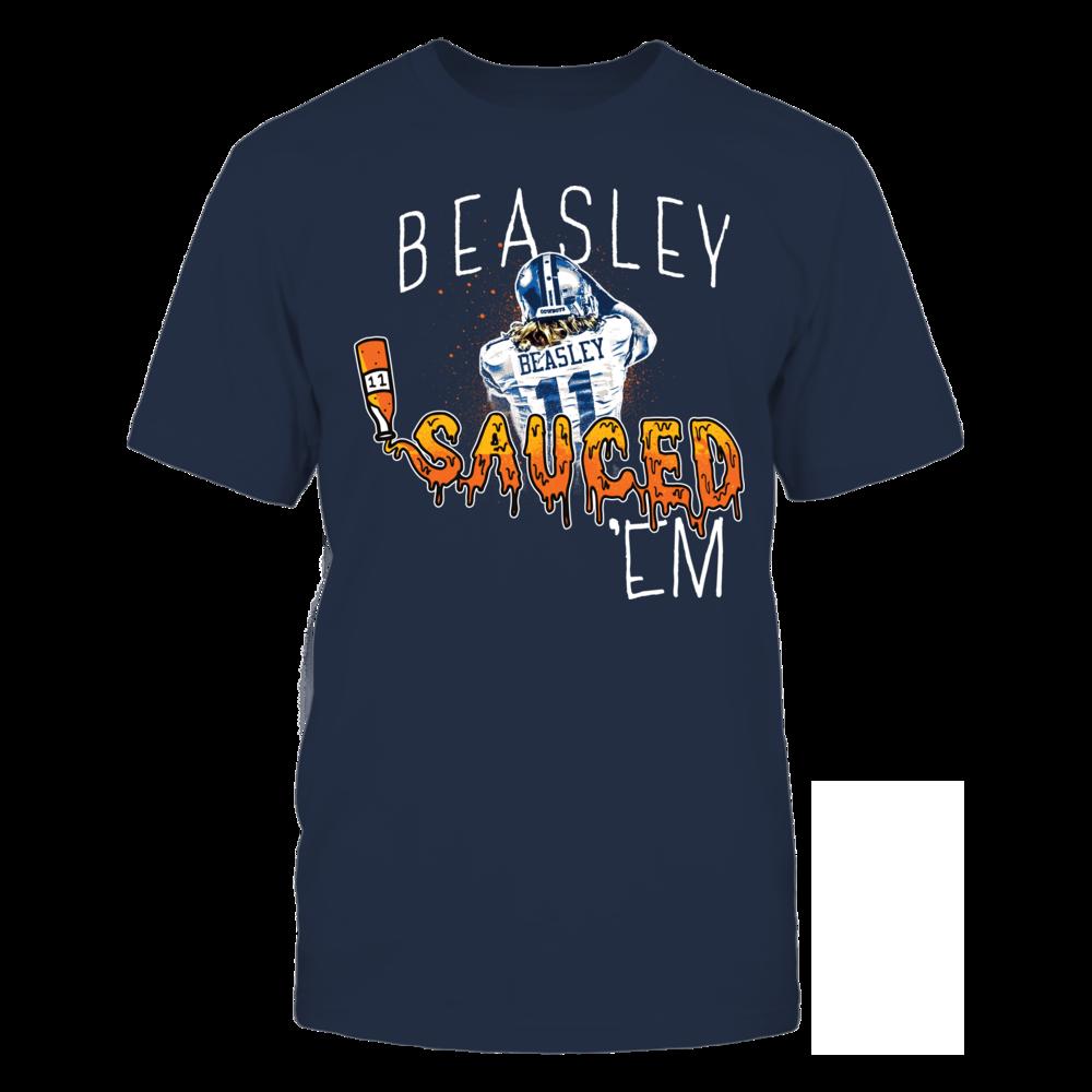 Cole Beasley Player Campaign Cole Beasley - Sauced 'Em FanPrint