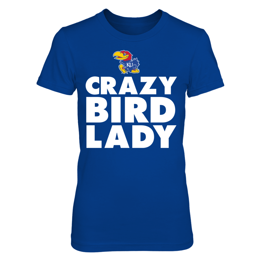 Kansas Jayhawks - Crazy Lady Front picture