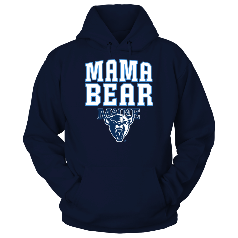 Maine Black Bears Maine Black Bears - Mama Bear FanPrint