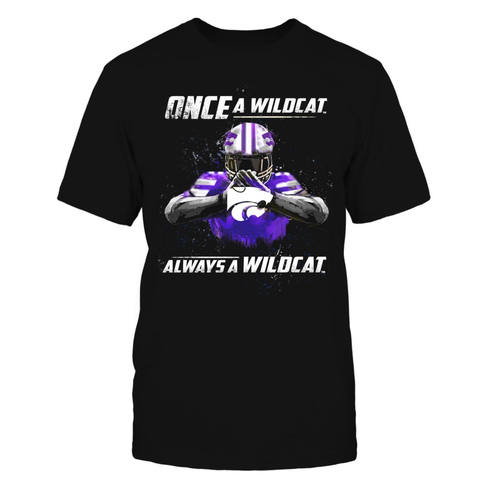 Kansas State Wildcats - Once a Wildcat, Always a Wildcat Front picture