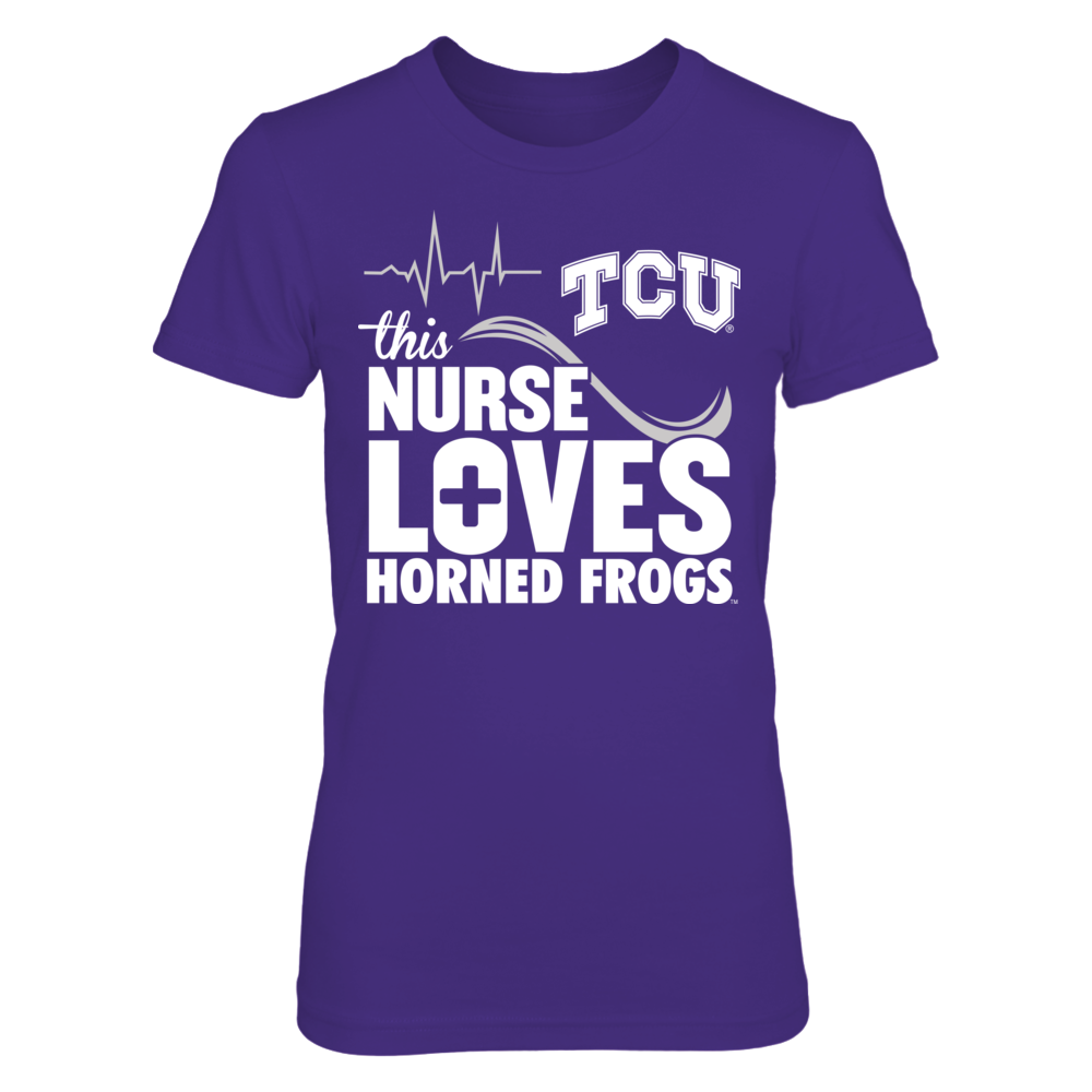 This Nurse Loves - TCU Horned Frogs Front picture