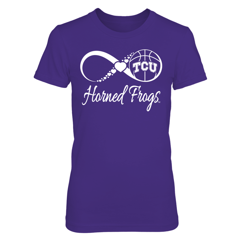 TCU Horned Frogs TCU Horned Frogs - Infinite Basketball Love FanPrint