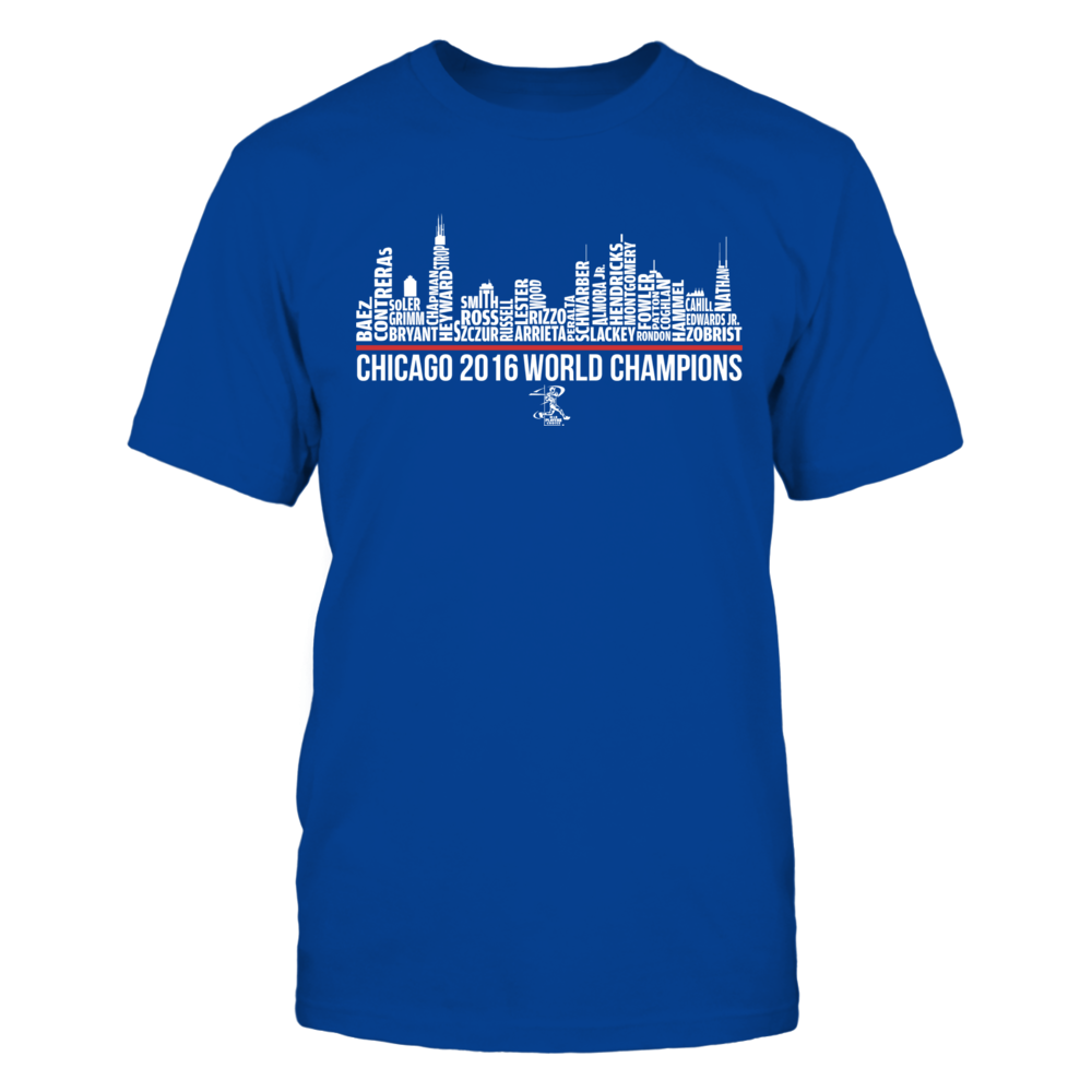 City Skyline (2016 World Champions) - Javier Baez Front picture