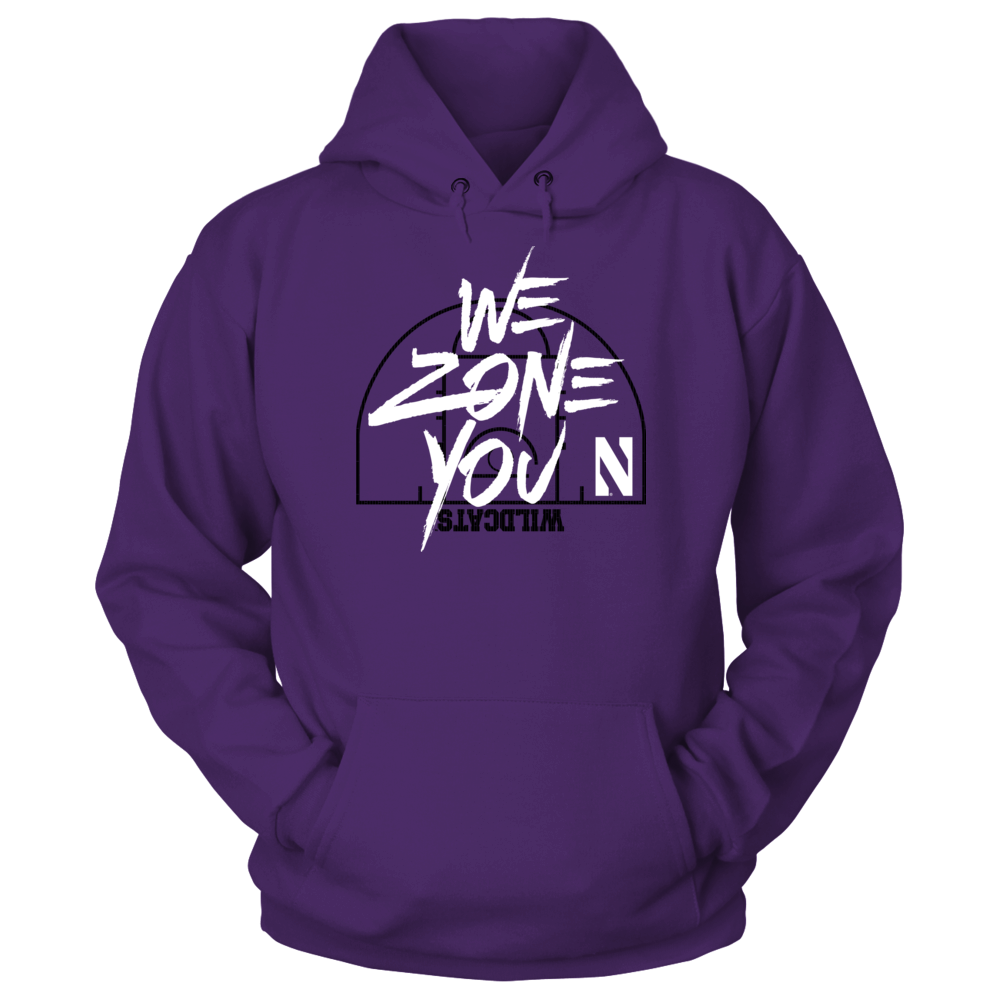 Northwestern Wildcats - We Zone You Front picture