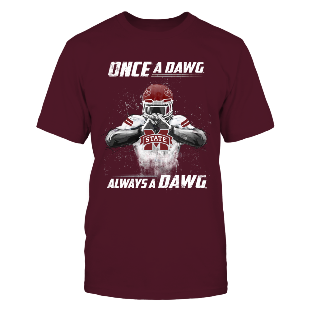 Mississippi State Bulldogs - Once A Dawg Always A Dawg Front picture